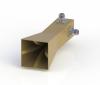 22-44GHz Double Polarization Horn Antenna ODPA-220440