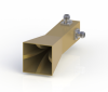 22-44GHz Double Polarization Horn Antenna ODPA-220440