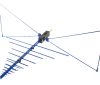 20MHz - 3GHz EMC Reference Antennas  OEMC-20M-3