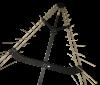 80MHz - 1GHz V-Log Periodic Array Antenna OVLA-00810