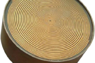 0.8-4.0GHz Cavity Backed Spiral Antenna   <br>  OBS-840