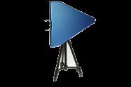 0.38GHz – 35GHz  Log Periodic Antenna