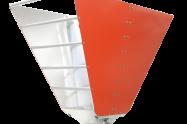 600MHz-4GHz  Broadband Horn Antenna  <br>  OBH-460