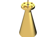 68-77 GHz Conical Horn Antenna OCN-125-23