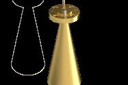 100-112 GHz Conical Horn Antenna OCN-08-25