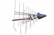 EMC Stacked Logarithmic-Periodic Broadband-Antenna