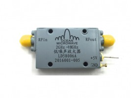 LNA , broadband LNA , amplifier , 2-6GHz LNA