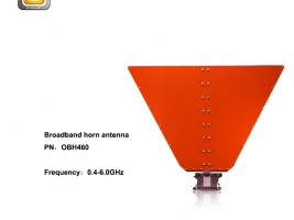 0.4-6.0GHz Double-Ridge Broadband Horn Antenna