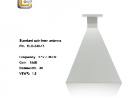 standard gain horn antenna,horn antenna,5.85 - 8.20 horn antenna,EMI horn antenna, anifonic horn antenna