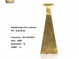 Standard Gain Horn Antenna , horn antenna , ka band horn antenna ,horn antenna microwave