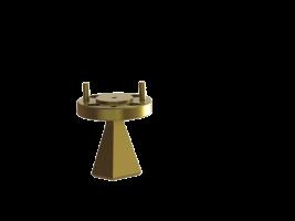110-170 GHz Standard gain horn antenna  110-170 GHz wr06 horn antenna 110-170 GHz wr06 110-170 GHz wr6 wr6 wr06 WR-06 OLB-06-20  wr06 Millimeter SGH Antenna