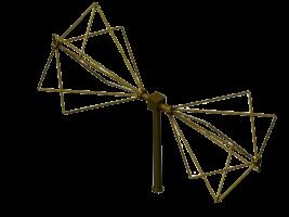 500MHz - 3000MHz  EMC Biconical Antenna    ,  Biconical radial isotropic broadband antenna