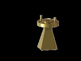 50.0-75.0 GHz WR-15  standard gain horn antenna OLB-15-17 Millimeter SGH Antenna