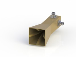 18-40GHz Double Polarization Horn Antenna ODPA-180400-30mm