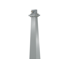 3.95-5.85GHz  Standard Gain Horn Antenna