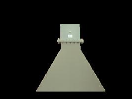 0.96-1.45GHz  Standard Gain Horn Antenna