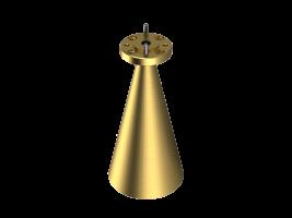 58-68 GHz Conical Horn Antenna OCN-141-23