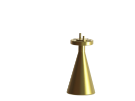87-100 GHz Conical Horn Antenna OCN-10-15