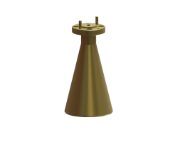 68-77 GHz Conical Horn Antenna OCN-12-23