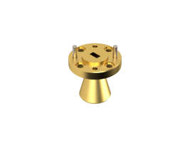 38.5-43 GHz Conical Horn Antenna  OCN-219-15