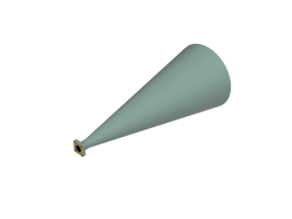 33-38.5 GHz Conical Horn Antenna OCN-250-23