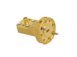 75-110GHz Waveguide Connector Adapter, Right Angle OWC-10R-100-F