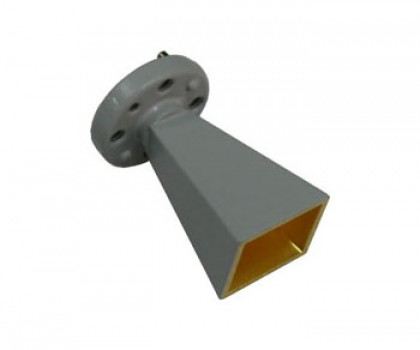 75-110GHz Standard Gain Horn Antenna WR-10 horn antenna Standard Gain Horn Antenna waveguide horn antenna