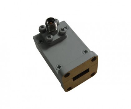 WR42   18.0-26.5GHz Right Angle Waveguide to Coaxial Adapter