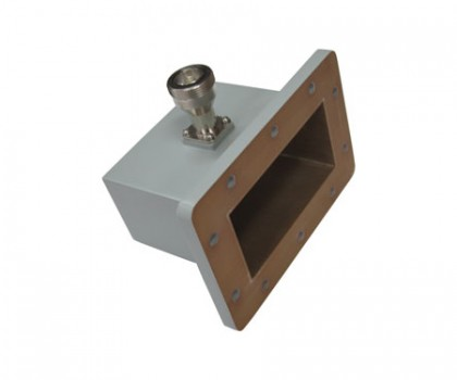 WR430   1.7-2.6GHz Right Angle Waveguide to Coaxial Adapter
