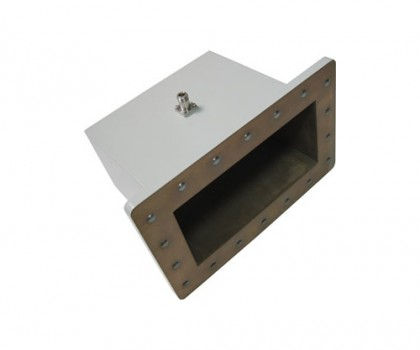WR975   0.75-1.12GHz Right Angle Waveguide to Coaxial Adapter