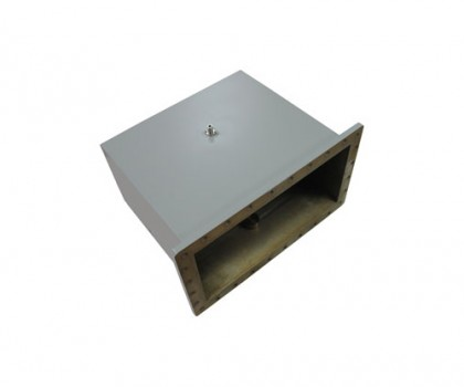 WR2100   0.35-0.53GHz Right Angle Waveguide to Coaxial Adapter