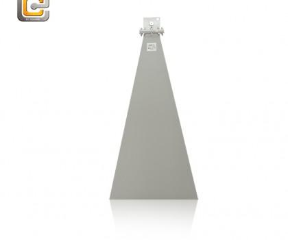 standard gain horn antenna,horn antenna,2.60 - 3.95GHz horn antenna,EMI horn antenna, anifonic horn antenna
