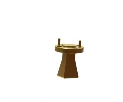 Standard gain horn antenna ` OLB-03-25  WR-03 WR-03 horn antenna Millimeter SGH Antenna