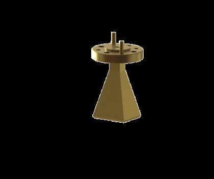 Standard gain horn antenna OLB-08-20 WR-08 Standard gain horn waveguide antenna waveguide horn antenna Millimeter SGH Antenna
