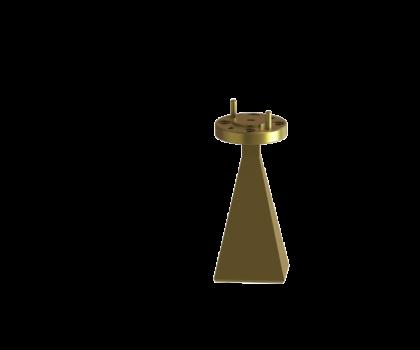Standard gain horn antenna OLB-06-23 Standard gain horn waveguide antenna waveguide horn antenna WR-06 Millimeter SGH Antenna