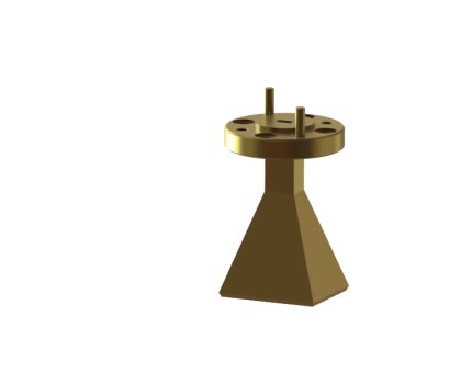 Standard gain horn antenna OLB-10-20 WR-10 WR-10 waveguide horn antenna wr10 Millimeter SGH Antenna