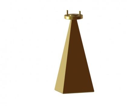 60.0-90.0 GHz WR-12  Standard gain horn antenna WR-12 horn antenna Millimeter SGH Antenna