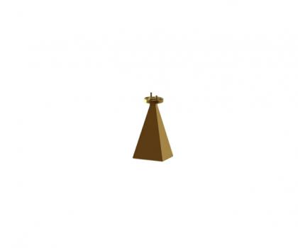 50-75 GHz wr15 Standard gain horn antenna  WR-15 horn antenna  OLB-15-23  Millimeter SGH Antenna