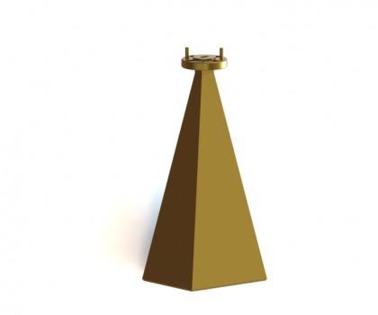 50.0-75.0 GHz WR-15  standard gain horn antenna  OLB-15-25 wr15 horn sgh antenna  Millimeter sgh antanna