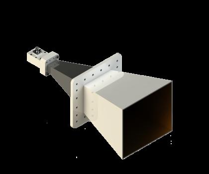 2-4.8 GHz Multi Octave Horn Antenna