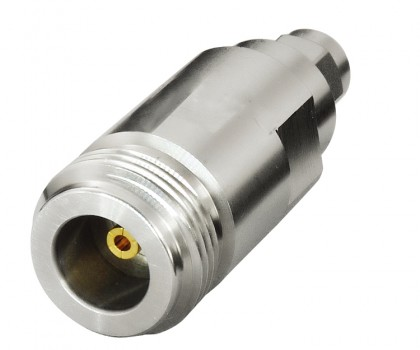 DC-18 GHz Port adapters N(f) to SMA(m)