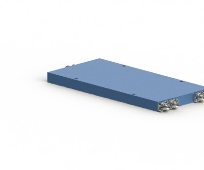 7.2-8.5 GHz 4 Way Power Divider OPD-4-7285-S