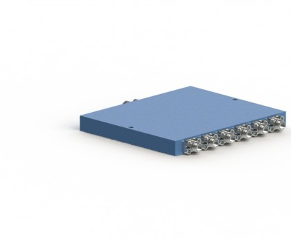 0.4-2 GHz 6 Way Power Divider  OPD-6-420-S
