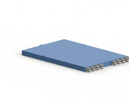 2-8 GHz 8 Way Power Divider OPD-8-2080-S