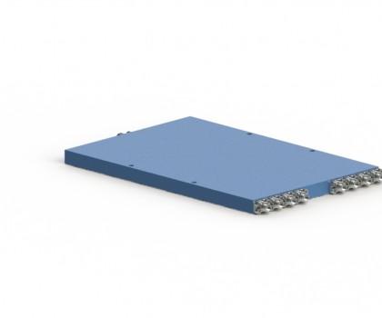 3-15 GHz 8 Way Power Divider OPD-8-30150-S