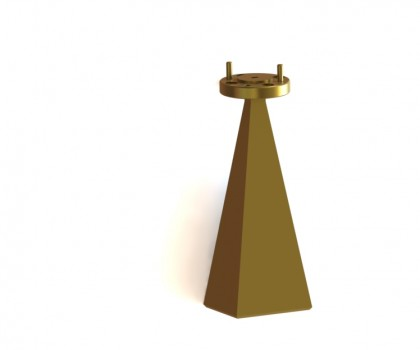90.0-140.0 GHz  Standard gain horn antenna  OLB-08-25 WR-08