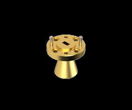43-50 GHz Conical Horn Antenna OCN-188-15