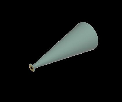 33-38.5 GHz Conical Horn Antenna OCN-250-23