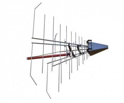 EMC Stacked Logarithmic-Periodic Broadband-Antenna